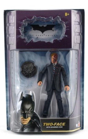 Mattel DC Batman TDK Two-Face With Scarred Coin Figure