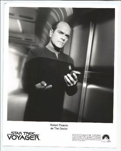 Lobby Card Star Trek Voyager - The Doctor