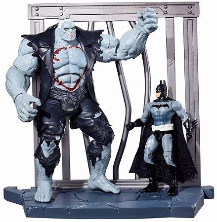 DC Multiverse Batman Arkham City Batman Vs Solomon Grundy