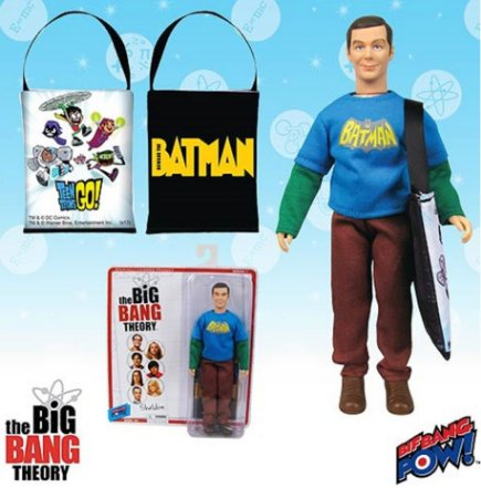 The Big Bang Theory Sheldon Cooper Exclusivo Entertainment Earth Estilo Mego