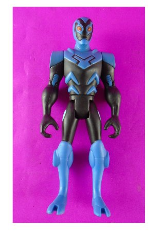 Mattel DC Batman Brave and Bold Blue Beetle (Besouro Azul) Loose