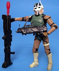 Star Wars - AT-RT DRIVER (Missile-Firing Blaster!) Revenge of the Sith