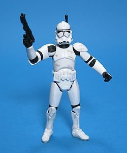 Star Wars - CLONE TROOPER (Super Articulated!) Revenge of the Sith