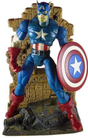 Toy Biz Marvel Legends Capitão América Series 1 Loose