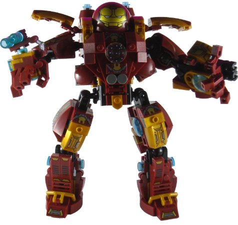Marvel Iron Man Hulkbuster Estilo Lego / Mega Bloks Ko