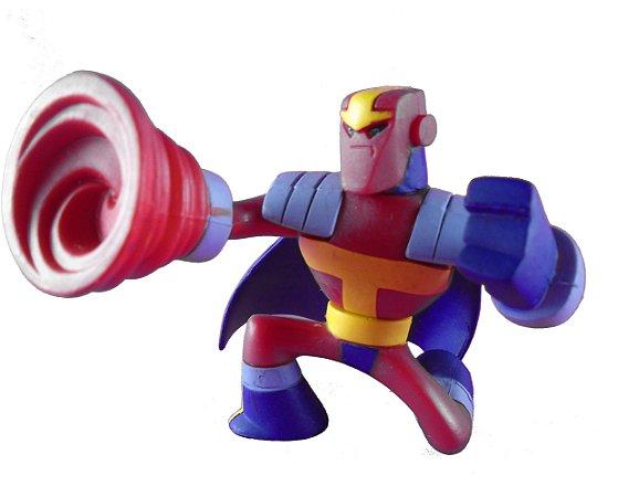 DC Universe Action League Red Tornado (Tornado Vermelho) Loose