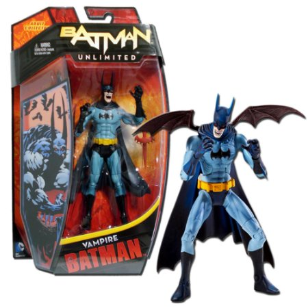 DC Mattel Unlimited Vampire Batman Figure