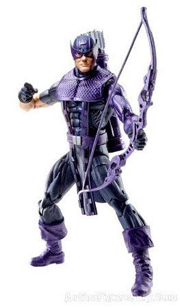 Hasbro Marvel Legends HAWKEYE (Gavião Arqueiro) (Sem peça BAF)