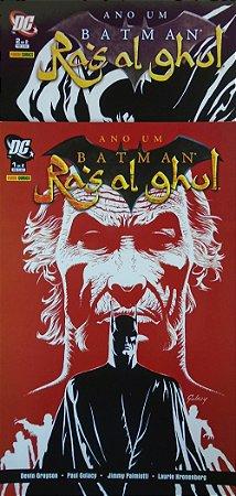 Panini Ano Um Batman Ra´s Al Ghul Minissérie Completa em 2 Edições