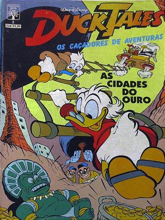 Abril Ducktales Os Caçadores de Aventuras #03 As cidades do Ouro