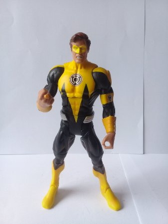 DC Universe Hal Jordan Lanterna Amarelo Loose