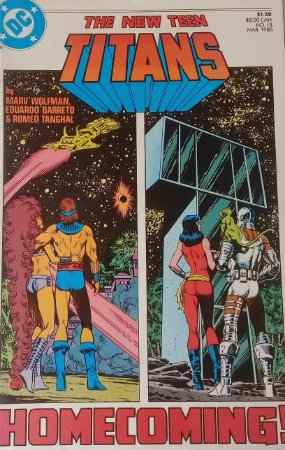 The New Teen Titans #18 Importada