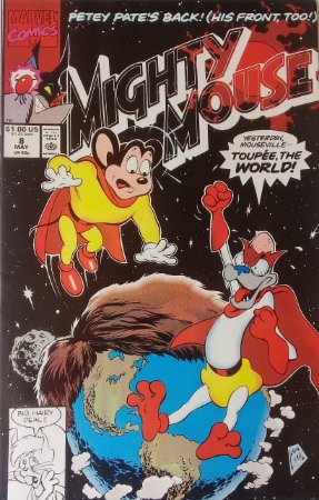 Mighty Mouse #8 Importada