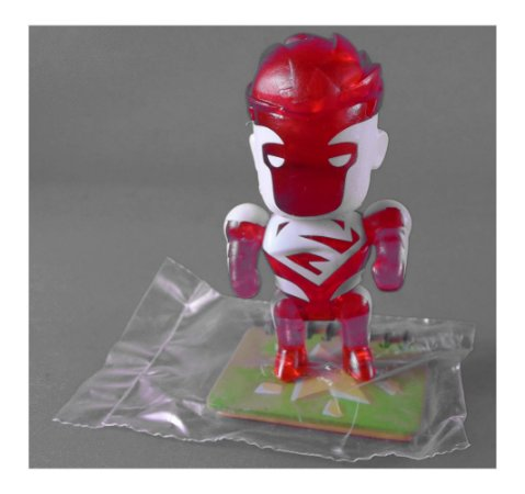 DC Collectibles Scribblenauts Unmasked Super-Homem (Superman) Red Loose