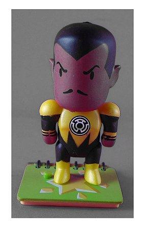 DC Collectibles Scribblenauts Unmasked Lanterna Amarelo Sinestro Loose