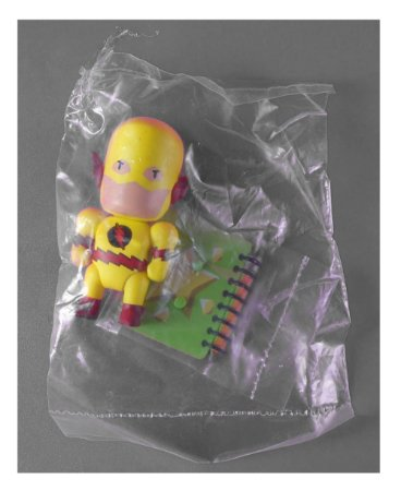 DC Collectibles Scribblenauts Unmasked Flash Reverso Loose