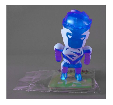 DC Collectibles Scribblenauts Unmasked Super-Homem (Superman) Blue Loose