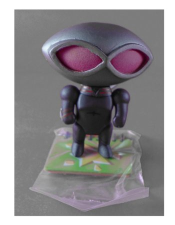 DC Collectibles Scribblenauts Unmasked Black Manta (Arraia Negra) Loose