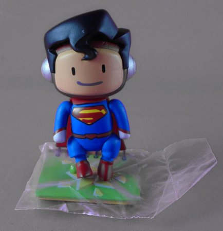 DC Collectibles Scribblenauts Unmasked Superman 2 Loose