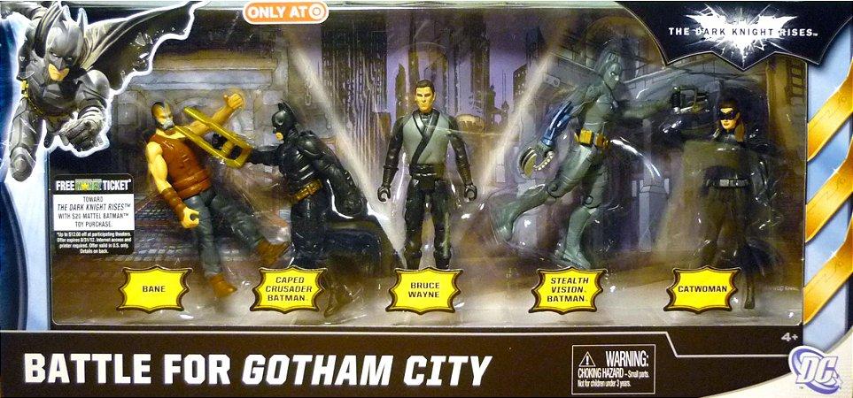DC Batman TDKR Battle for Gotham City 5 Pack Exclusivo Target
