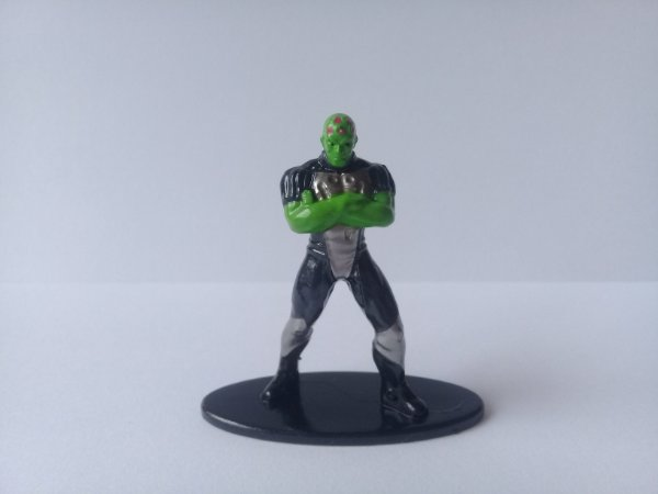 Nano MetalFigs Brainiac