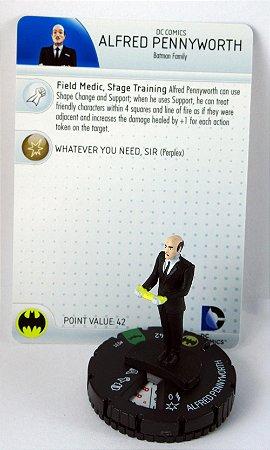 Heroclix Batman Family Alfred Pennyworth #031