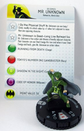 Heroclix Batman Inc. Mr Unknown #044