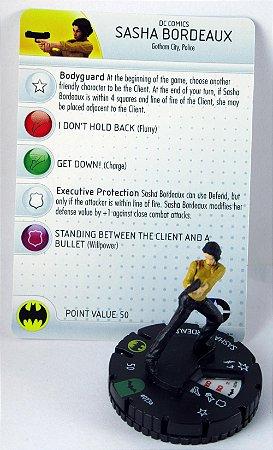 Heroclix Gotham City Police Sasha Bordeaux #023a