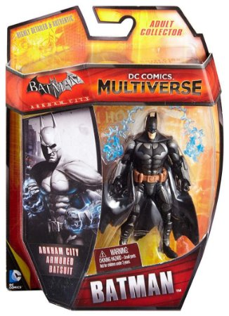 Mattel DC Multiverse Batman Arkham Armored Batsuit