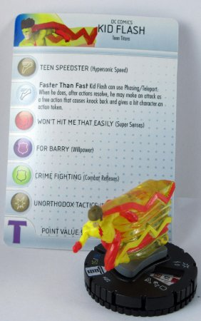 Heroclix Kid Flash #002 Teen Titans