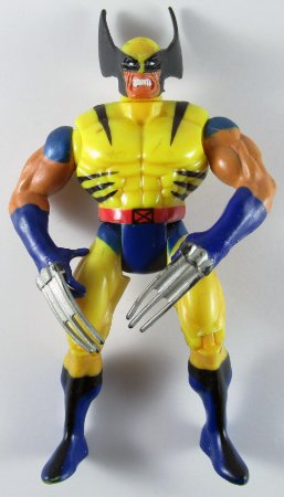 Toy Biz 1998 Marvel X-Men Wolverine Figure Loose