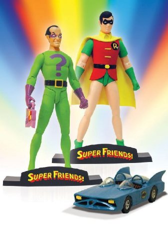 DC Direct Super Friends - Robin e Charada
