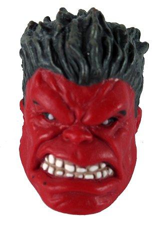 Hasbro Baf Marvel Legends Cabeça Hulk Vermelho