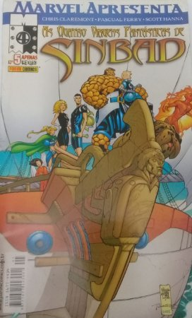 Marvel Apresenta #5 Quarteto Fantástico Ed. Panini
