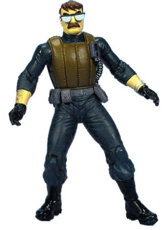 DC Direct Batman Dark Victory Commissioner Gordon Figure