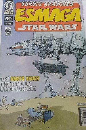 Sergio Aragones Esmaga Star Wars  - Ed. Pandora Books