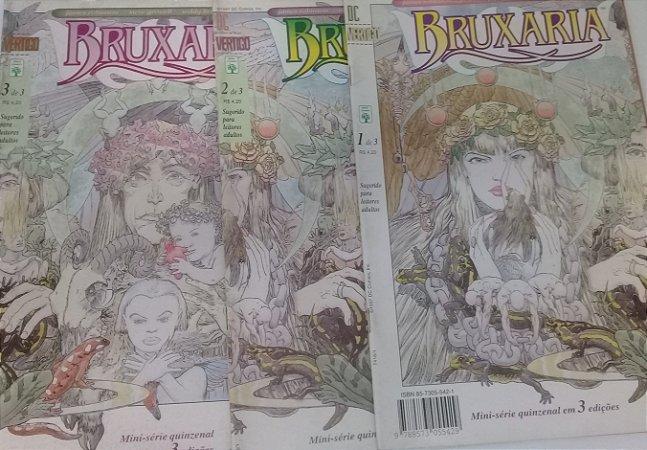 Bruxaria - Mini-Série em 3 edições  - Ed. Abril