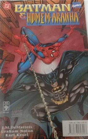 Batman e Homem-Aranha - Ed. Abril