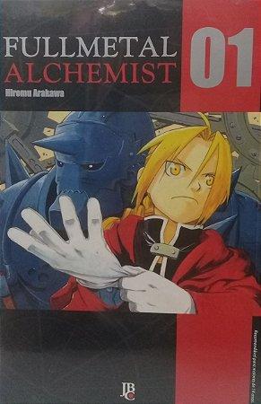 Fullmetal Alchemist 2ª Série #1 - Ed. JBC