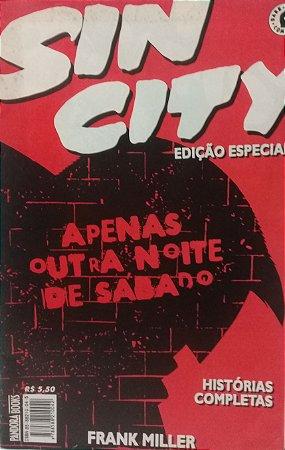 Sin City Edição Especial Apenas Outra Noite de Sábado - Ed. Pandora Books