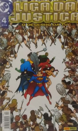 Liga da Justiça O Desenho da TV #4 - Ed. Panini