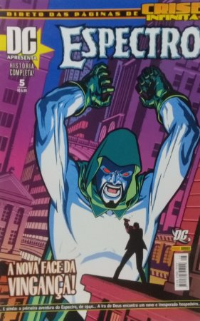 DC Apresenta #5 (Espectro) - Ed. Panini