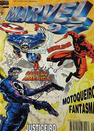 Marvel 97 #05 Editora Abril