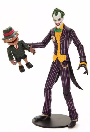 DC Direct DC Batman Arkham Asylum The Joker With Scarface Figure Series 1