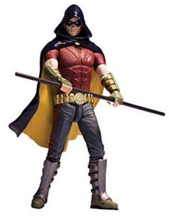 DC Direct Batman Arkham City Robin Figure Series 1