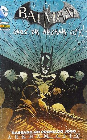 Batman Vol. 4 Caos em Arkham City - Ed. Panini