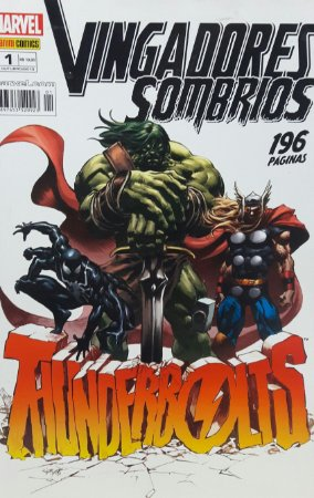 Vingadores Sombrios #1 Thunderbolts - Ed. Panini