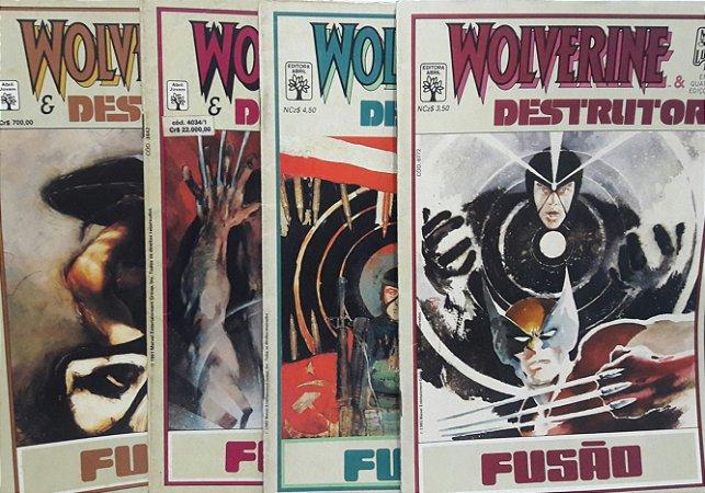 Wolverine Destrutor Fusão - Ed. Abril