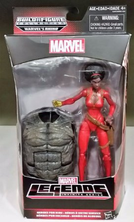 Marvel Legends Misty Knight (BAF Rhino)
