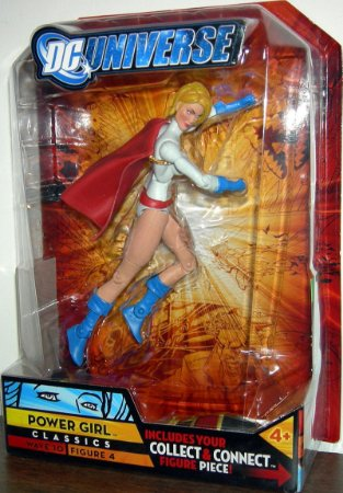 Dc Universe Poderosa (Power Girl) Cartela Aberta